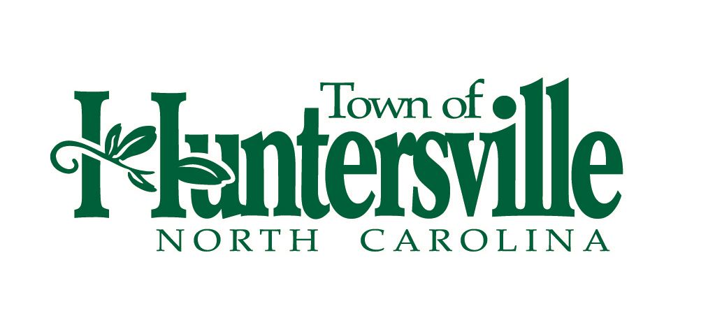 Town of Huntersville Logo in Green