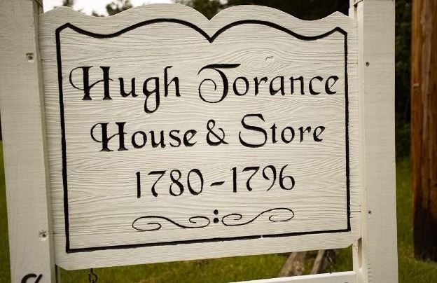 Hugh Torance House & Store Sign