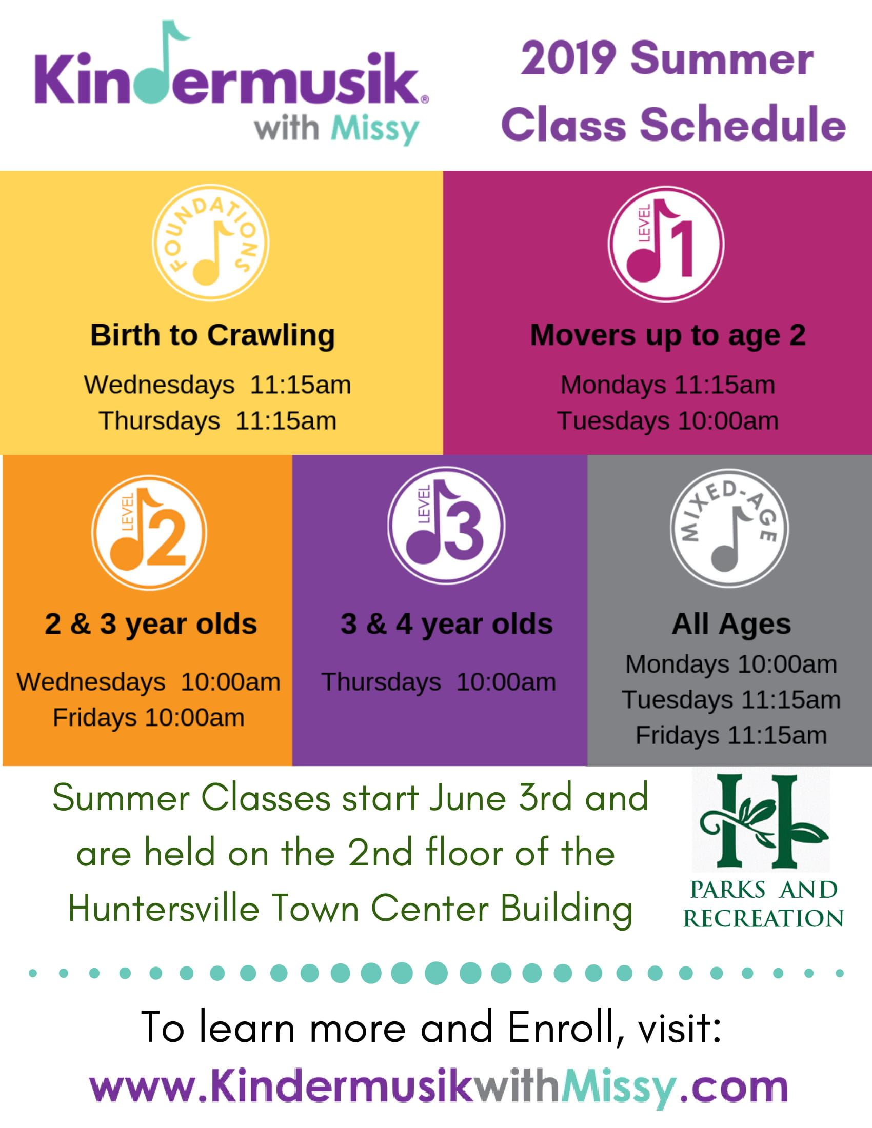 Summer Classes held on the 2nd floor of the Huntersville Town Center Building (3)-1