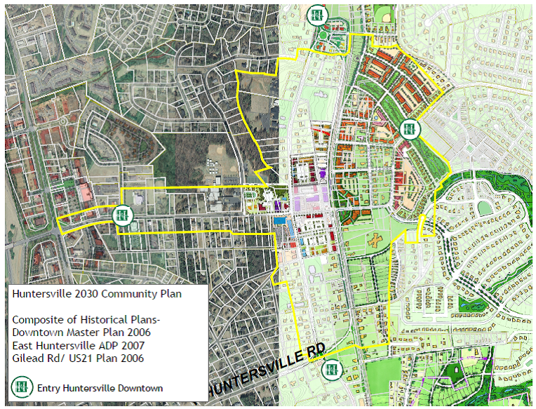 2006 Long Range Plans for Huntersville Downtown