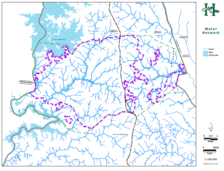 Map E-2 Streams and Water Bodies