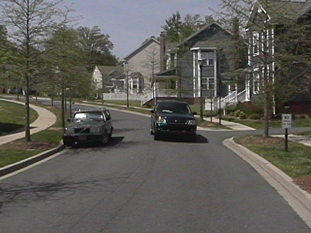 Typical Residential Street in Huntersville