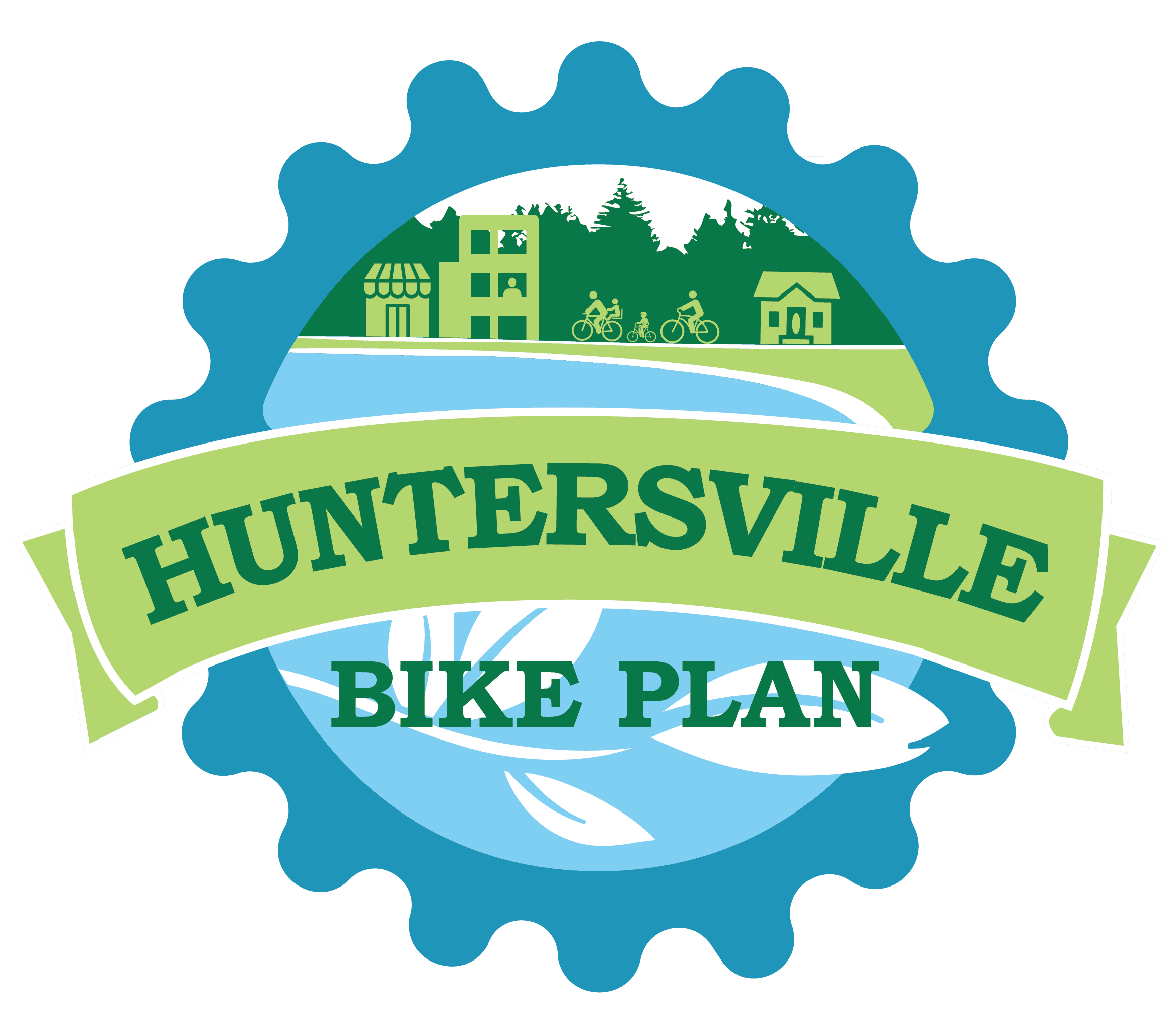 Huntersville Bike Plan Logo Opens in new window