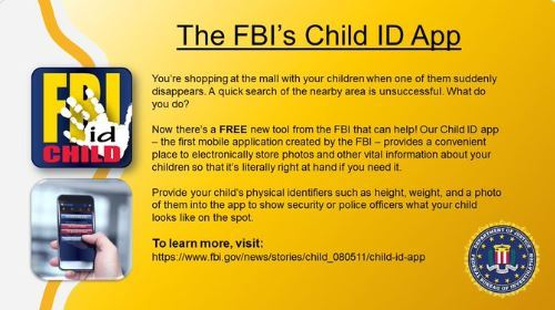 FBI Child ID APP Information